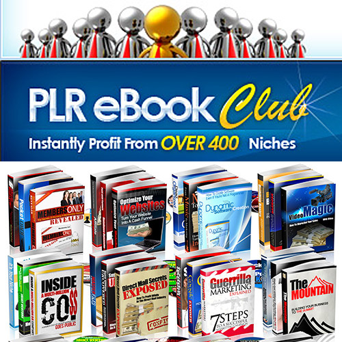 PLR eBook Club - Instantly Profit From Over 400 Niches